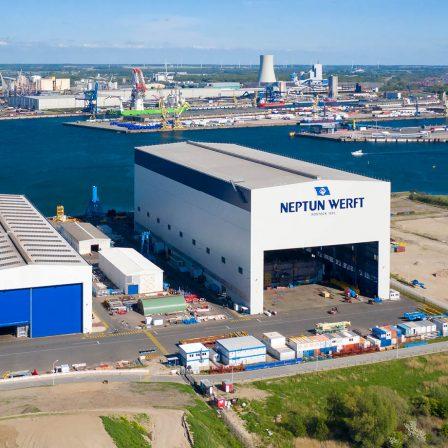 Werftführung Neptun Werft, Rostock